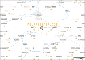map of Neu Fresenbrügge
