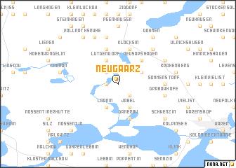 map of Neu Gaarz