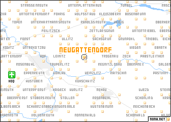 map of Neugattendorf