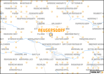 map of Neugersdorf
