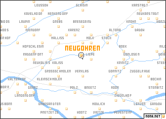 map of Neu Göhren