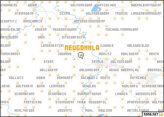 map of Neugommla