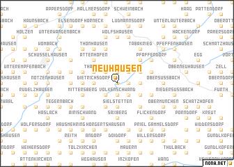 map of Neuhausen