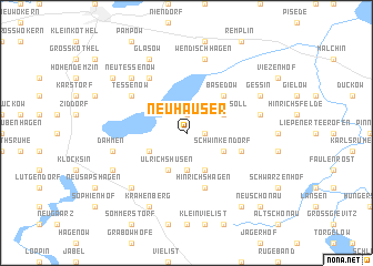 map of Neuhäuser