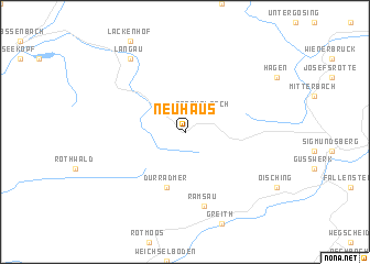 map of Neuhaus