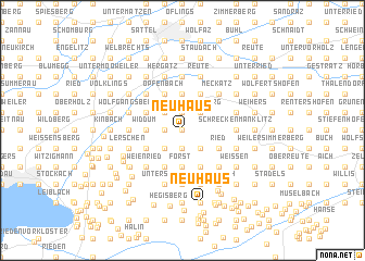 map of Neuhaus