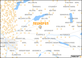 map of Neuhofen