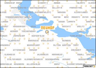 map of Neuhof