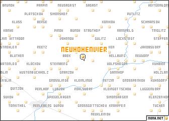 map of Neuhohenvier