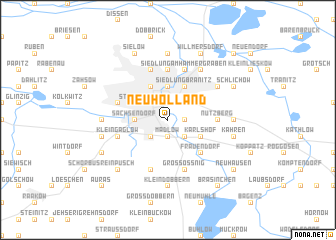 map of Neu Holland