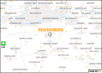 map of Neu Isenburg