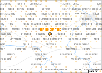 map of Neukarcha