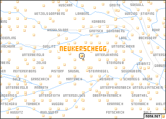 map of Neukerschegg