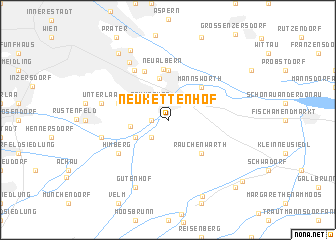 map of Neukettenhof