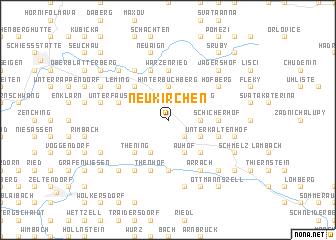 map of Neukirchen