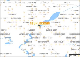 map of Neu Klocksin