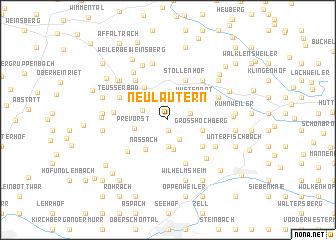 map of Neulautern