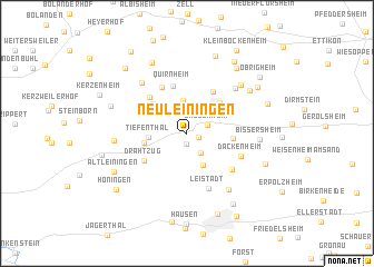 map of Neuleiningen