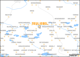 map of Neuliebel