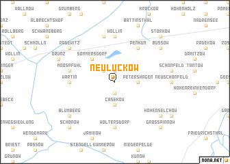 map of Neuluckow