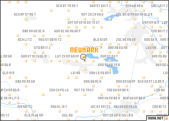 map of Neumark