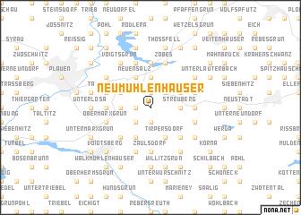 map of Neumühlenhäuser