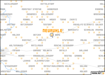 map of Neumühle