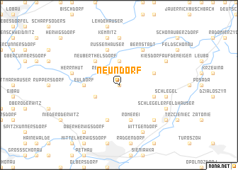 map of Neundorf