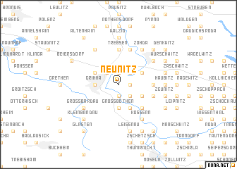 map of Neunitz