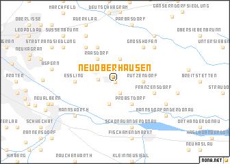 map of Neu-Oberhausen