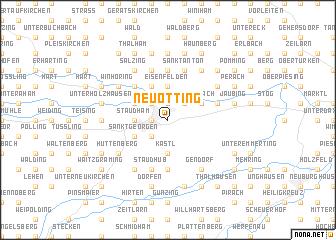 map of Neuötting