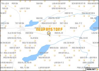 map of Neu Panstorf