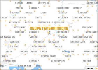 map of Neupetershain Nord