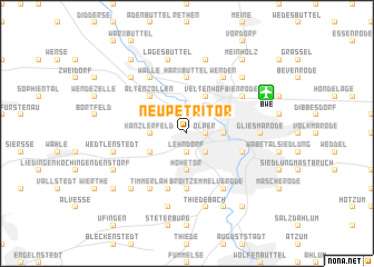 map of Neupetritor
