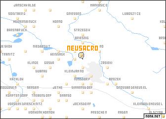 map of Neu Sacro