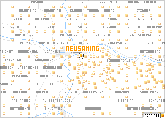 map of Neusaming
