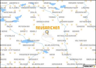 map of Neu Särichen