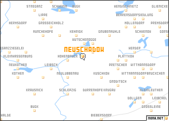 map of Neu Schadow