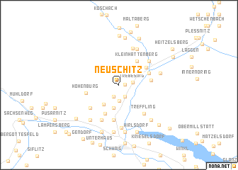 map of Neuschitz