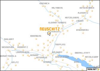 map of Neuschitz