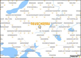 map of Neu Schönau