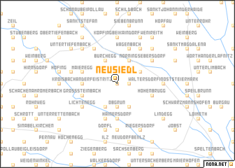 map of Neusiedl