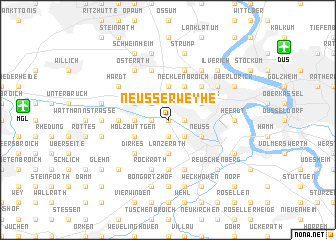 map of Neußerweyhe