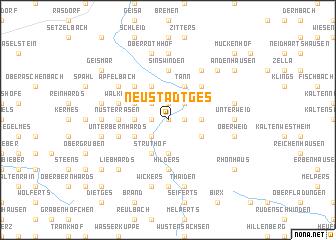 map of Neustädtges