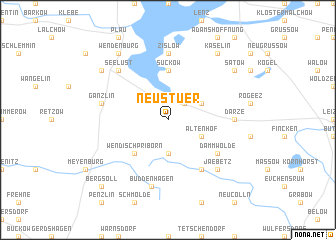 map of Neu Stuer