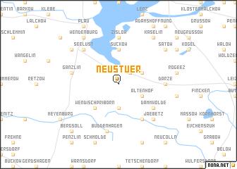 map of Neu Stuer