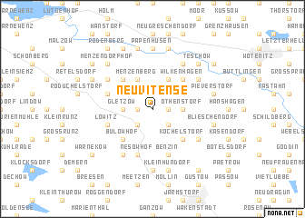 map of Neu Vitense