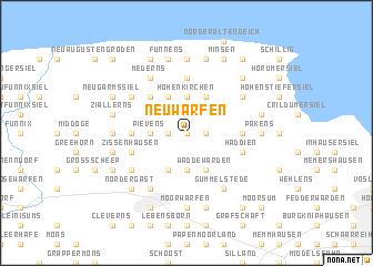 map of Neuwarfen