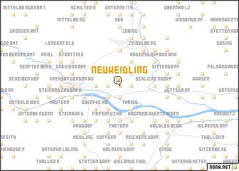map of Neuweidling