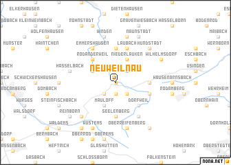 map of Neuweilnau